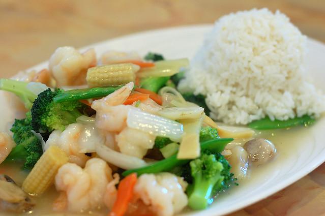 Mr. Chan Asian Cuisine Menu, 13947 Beach Blvd #110  |Shrimp With Mixed Vegetables