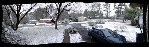 winter panorama snow pano yay ourhouse snowfall frontyard frontporch i♥snow