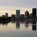 Rochester Skyline by bgolub