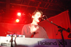 3 November 2007 - 10:28pm - Notable only because John Linnell kept smacking his keyboard so quickly I couldn't freeze-frame the motion.