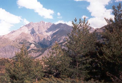 Dans les Alpes, il y a des montagnes