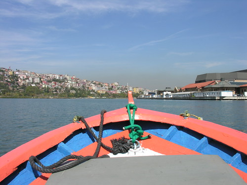 Az Aranyszarv-öböl csónakos része