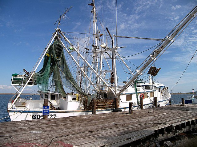 Commercial fishing boat apalachicola florida photo by for Commercial fishing florida