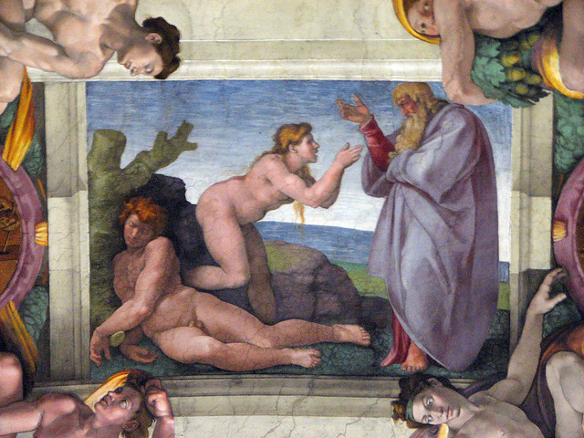 Sistine Chapel - Ceiling - God
