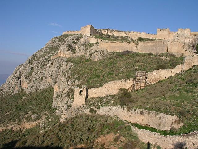 Acrocorinth Walls  Flickr - Photo Sharing!
