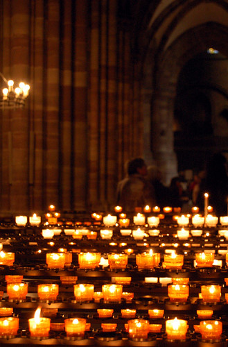 Strasbourg Cathedral Candles