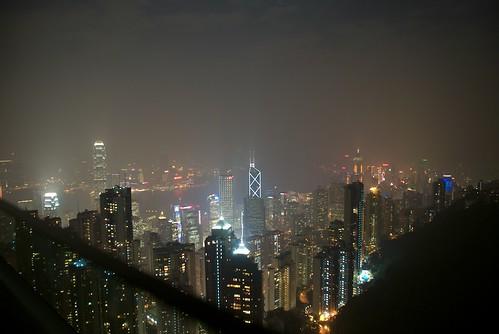Night shot at the Peak