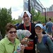 Jason after Marathon with Krista & Robbie
