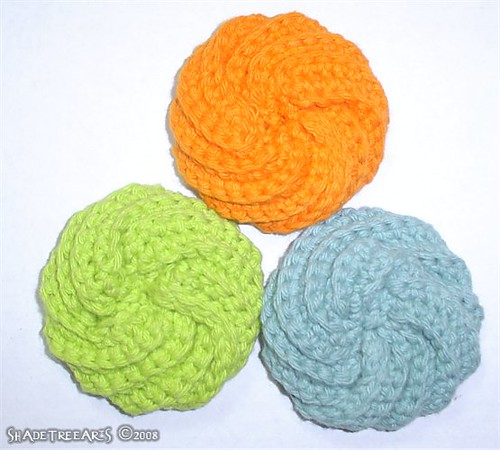 Free Crochet Patterns: Tawashi Scrubbies - Yahoo! Voices - voices