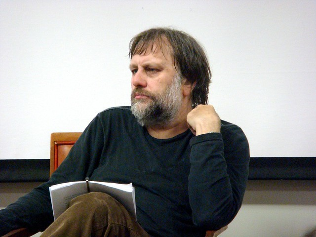 Slavoj Zizek in Liverpool
