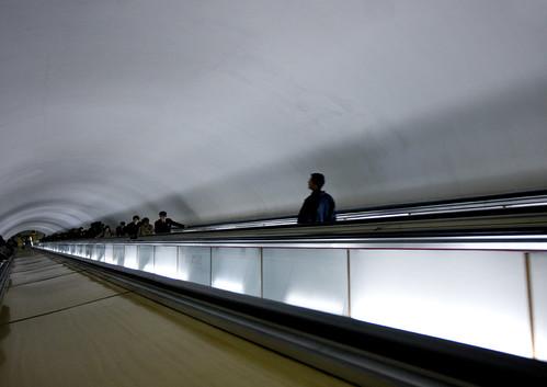 Pyongyang subway North Korea