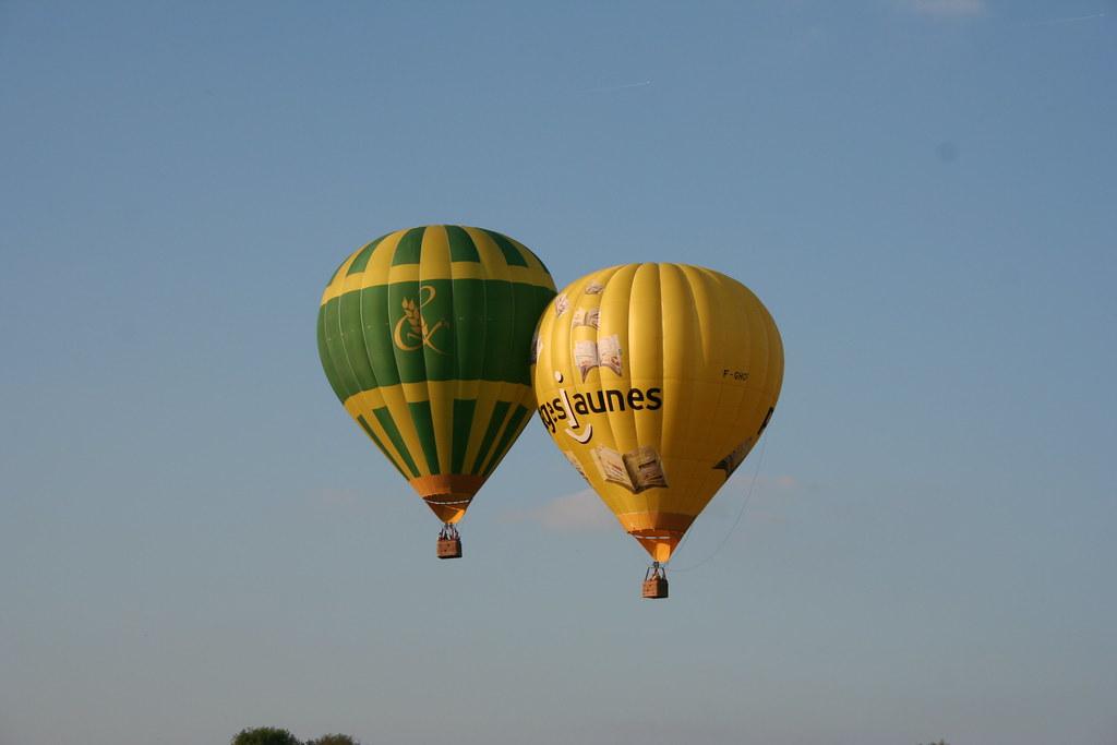 Air-balloon collision