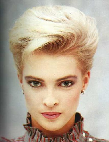Hair Style In The 80s : Short Hairstyles Of The 80s Short Pixie Haircuts