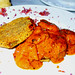 K-Paul's Louisiana Kitchen - Fried Green Tomatoes with Shrimp Chipotle by LucyPB2urJelly
