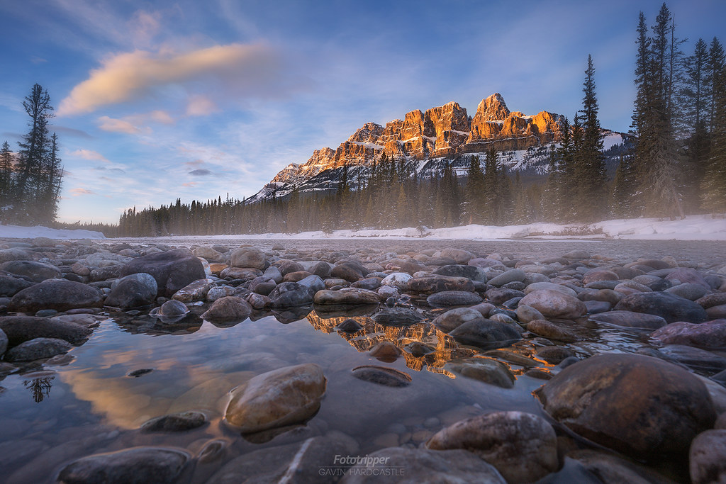 'Castle Approach' - Castle Mountain, Banff National Park