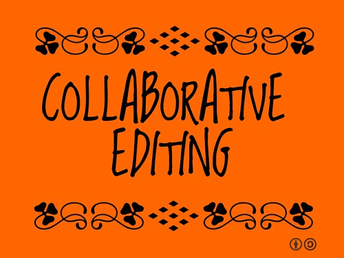 Collaborative editing