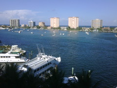 The view from our room.  Boca!