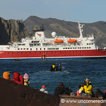 Looking Out on the MS Expedition - Antarctica