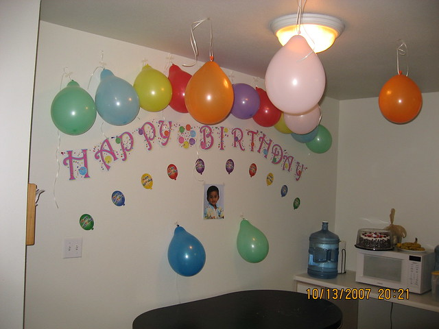 Photo for B day decoration photos