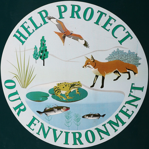 HELP PROTECT OUR ENVIRONMENT