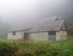 Lost in the fog - a hidden WWII radar station, disguised as a farm house, along the Pacific coast - radar13