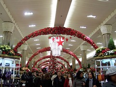 Holiday decorations in Macy's (NYC)