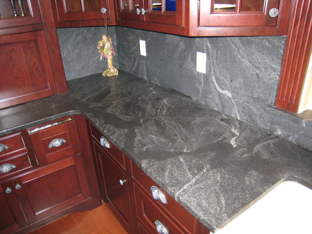 Honed Granite Countertops : Jet Mist Honed Granite Countertops Flickr - Photo Sharing!
