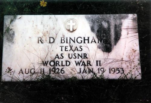 cemetery graveyard memorial texas military headstone wwii remembrance veteran bingham colemancounty usnr whon deadmantalking