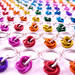 Stitch Markers up close by RedPandaChainMail