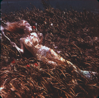 Sunbathing Underwater