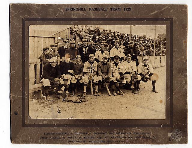 1923 springhill nova scotia baseball explore baseballart. Black Bedroom Furniture Sets. Home Design Ideas