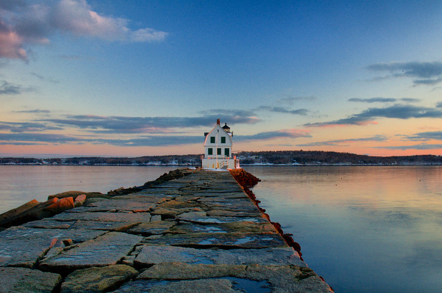 Rockland Breakwater Lighthouse Flickr Photo Sharing