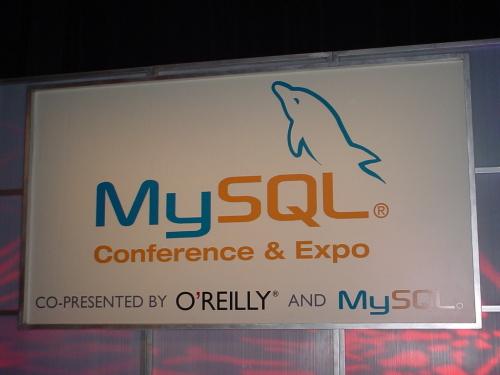 MySQL Banner: Keynote stage