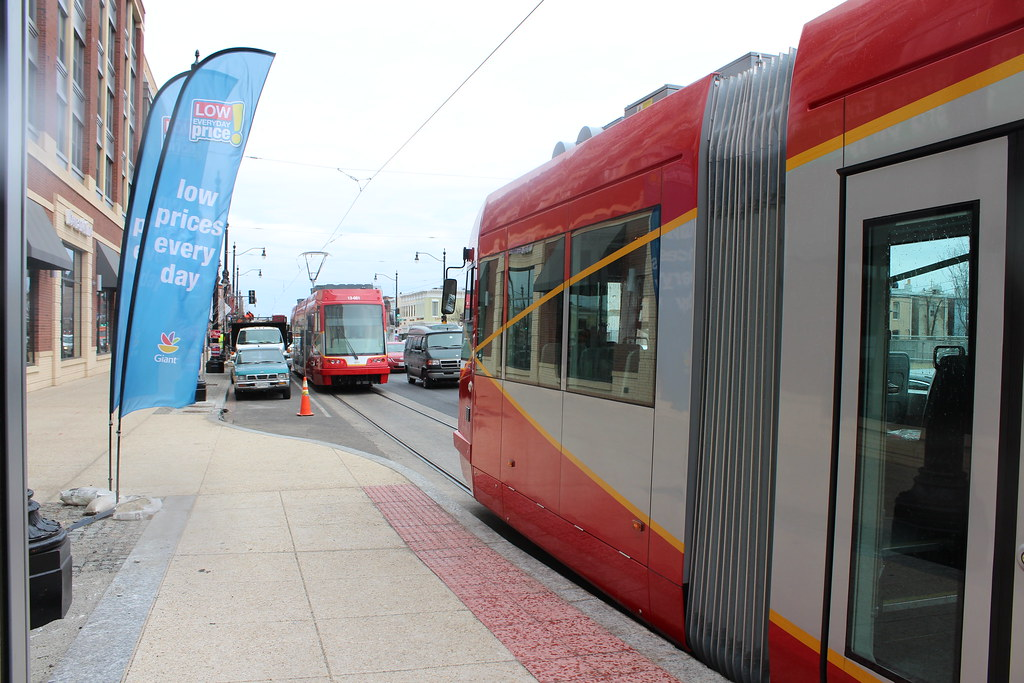 Delivery of first United Streetcar to H/Benning for safety testing.