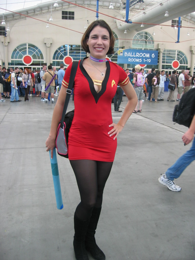cosplay trek Female star