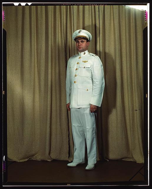 Marines Dress White Uniform in Dress White Uniform
