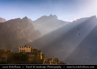 Yemen  - Harraz mountains - Manakha