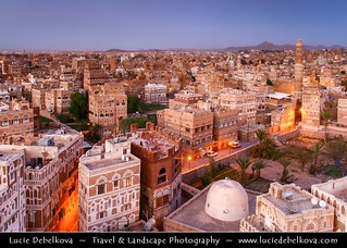 Yemen - Sana - San'a - Sanaa - Sana'a - The most fascinating capital in the Arab world