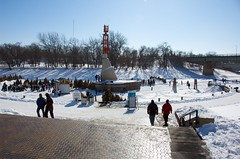 On the river at the Forks