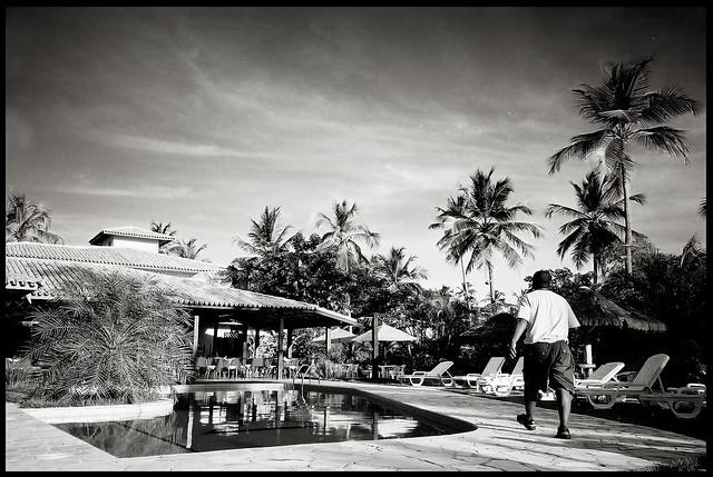 Praia de Forte Hotel Yashica T4 Zoom 28mm