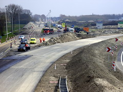 The new circular road South of Sneek