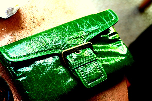 Green with envy bag