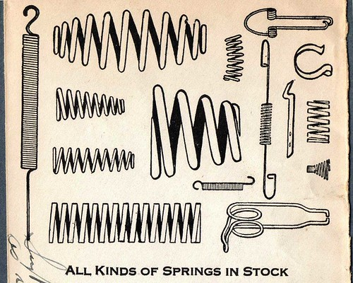 In the Spring, a young man's fancy turns to.....springs???