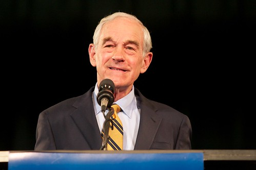 Ron Paul in Exeter