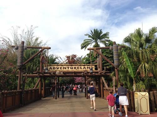 Orlando, Adventureland. Florida