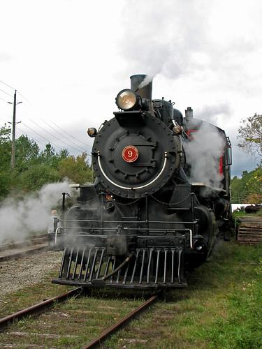 Steam Locomotive, St Jacobs, Ontario