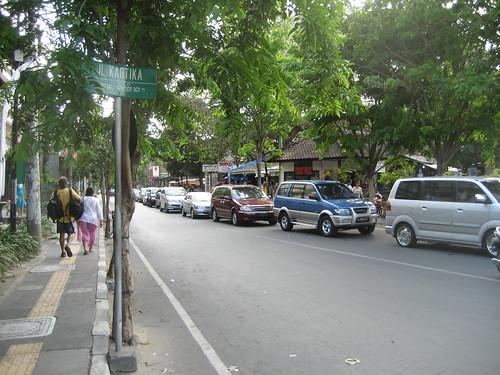 Traffic Jam in Kuta
