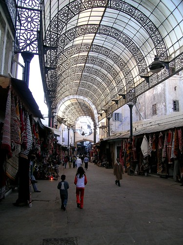 Rue des consuls - medina Rabat