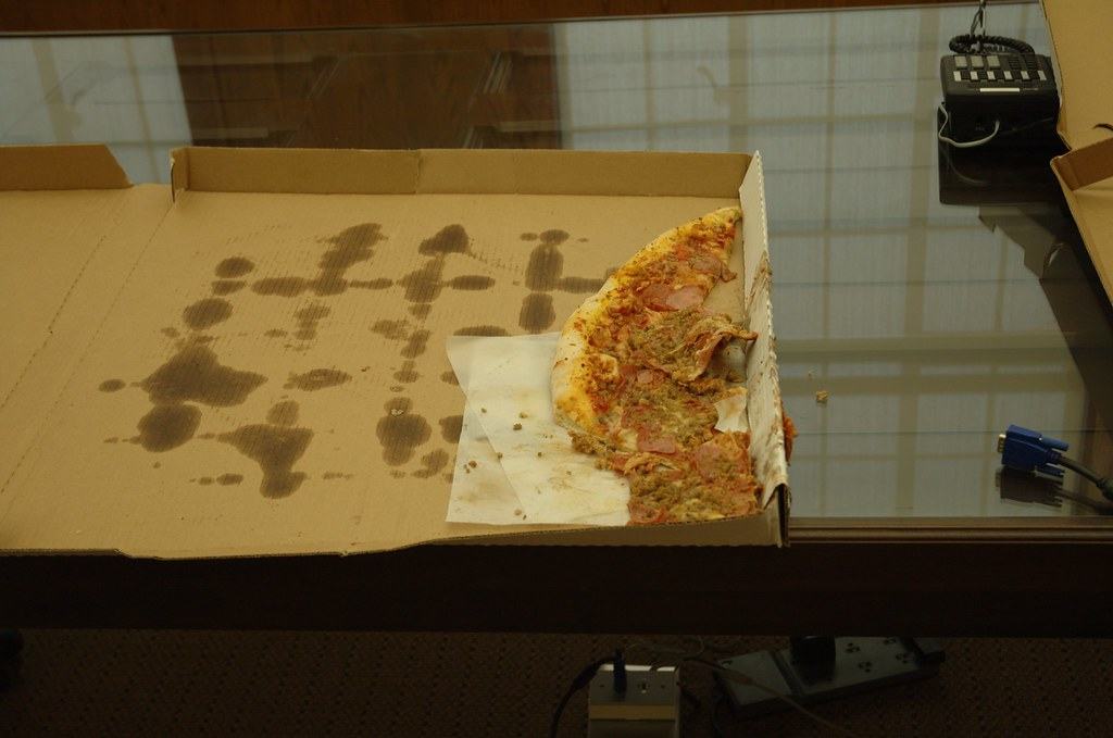 Pizza Meets Gravity