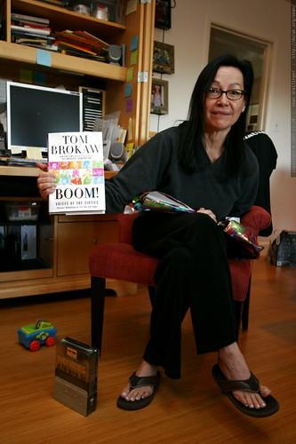 grandma neeta and a new book    MG 7658